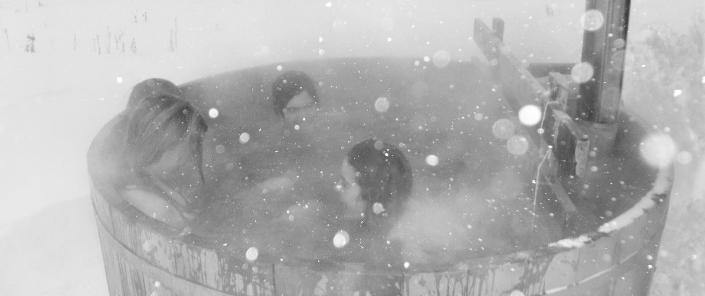 Dans le bain nordique