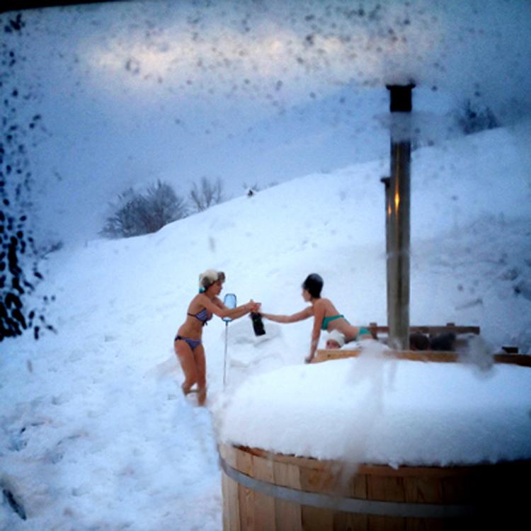 bain nordique et sauna l 39 aventure nordique. Black Bedroom Furniture Sets. Home Design Ideas