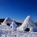 nuit en igloo et bain nordique à Gourette
